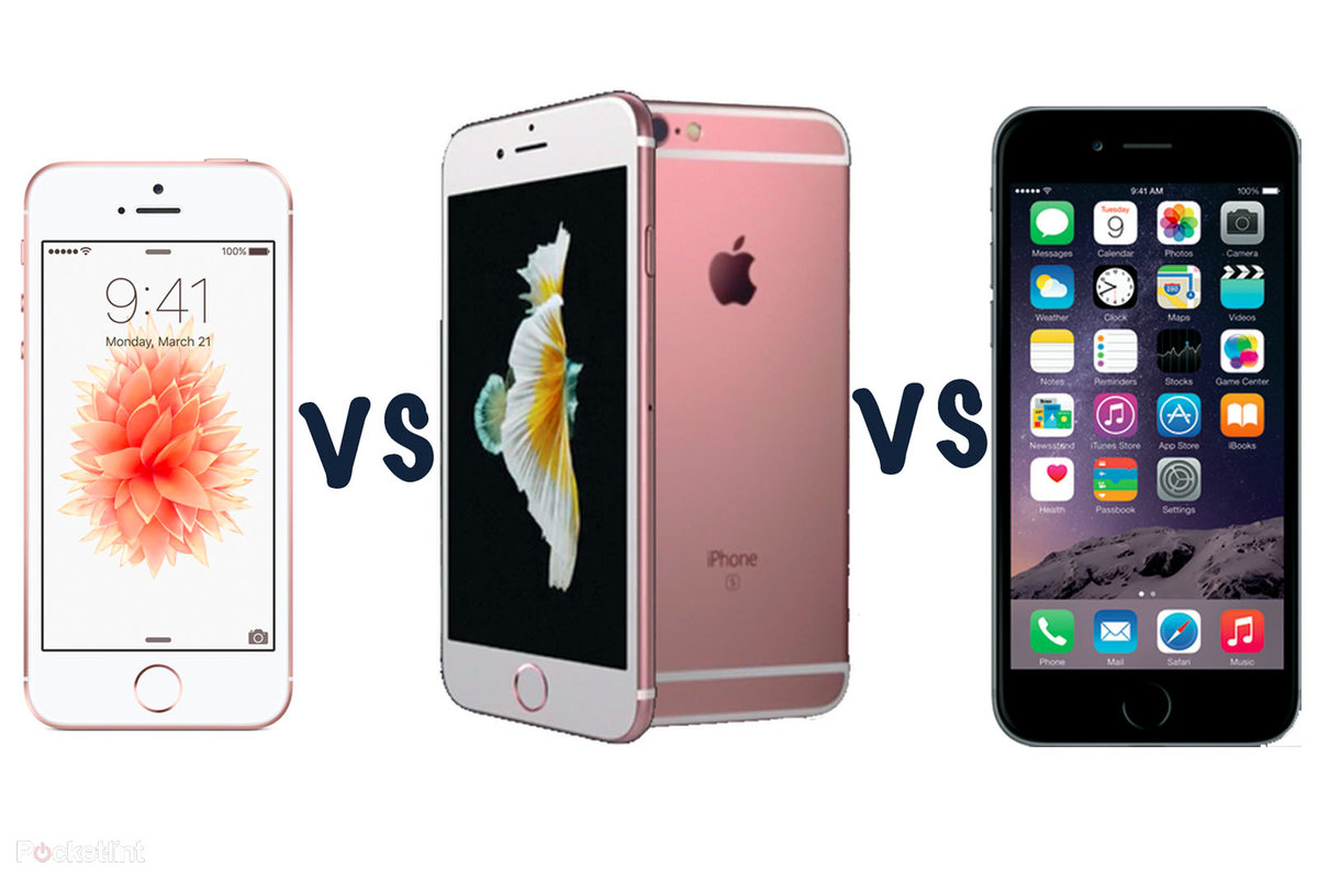 Apple IPhone SE Vs 6S 6 Whats The Difference