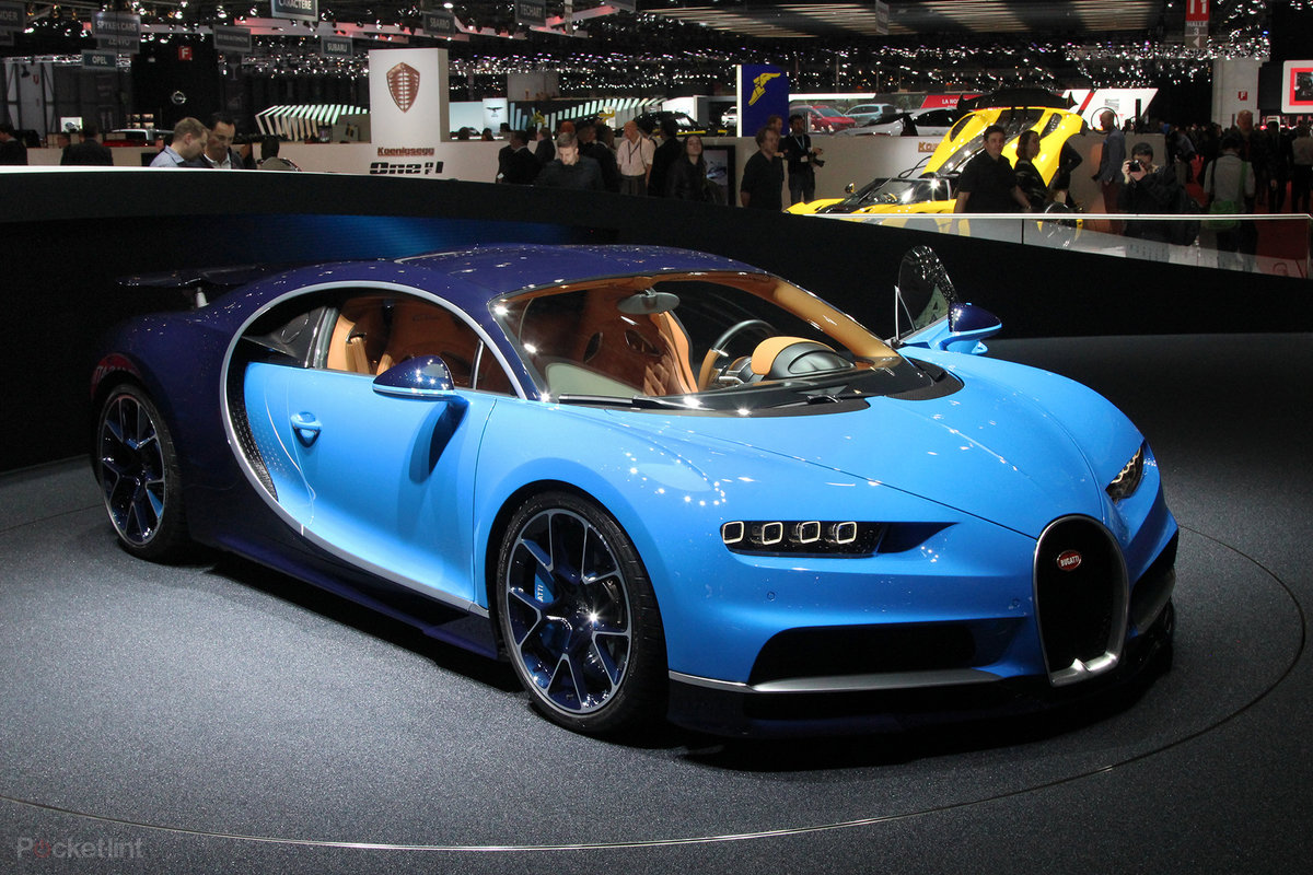 Bugatti Chiron The Supercar With A Yes Million