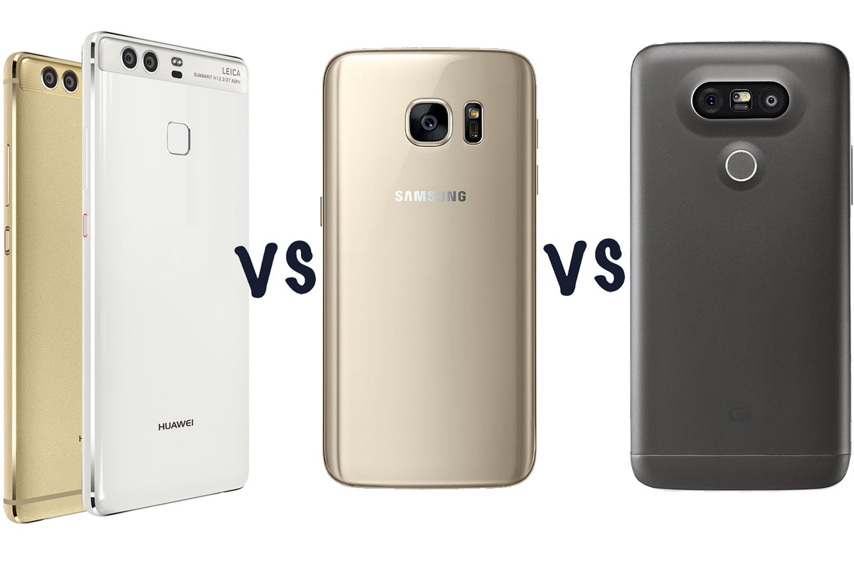 Huawei P9 Vs Plus Samsung Galaxy S7 Lg G5 Whats The Se Smartphone Gold 32 Gb 3 Difference Pocket Lint