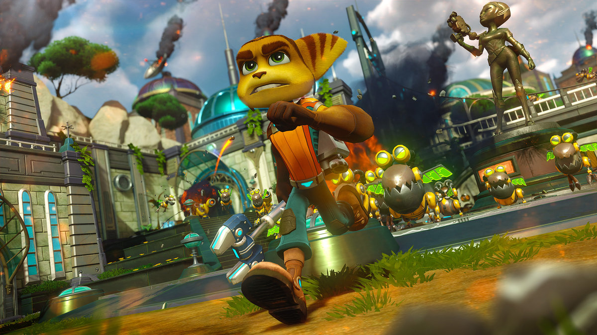 Ratchet Clank 2016 Review Platformer Perfection On Ps4