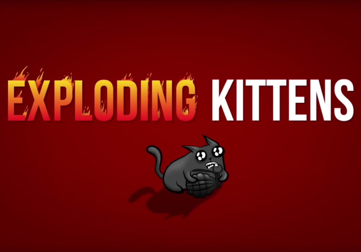 That crazy successful Exploding Kittens card game is now an And