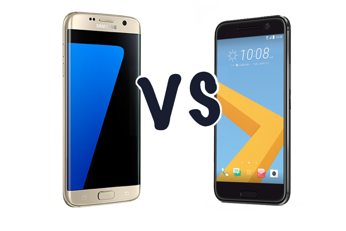 c647b0dbea5c9d Samsung Galaxy S7 edge vs HTC 10  Which is the best flagship  -