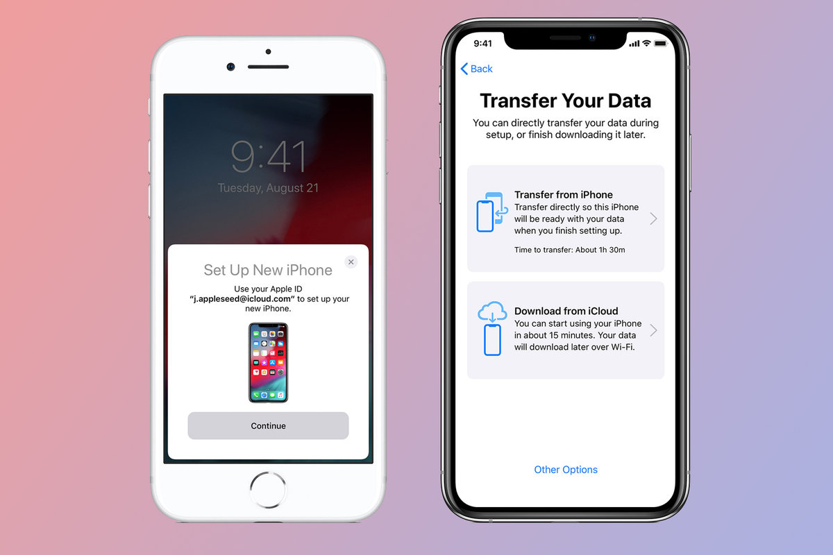 How to wipe an iPhone and transfer content to a new iPhone