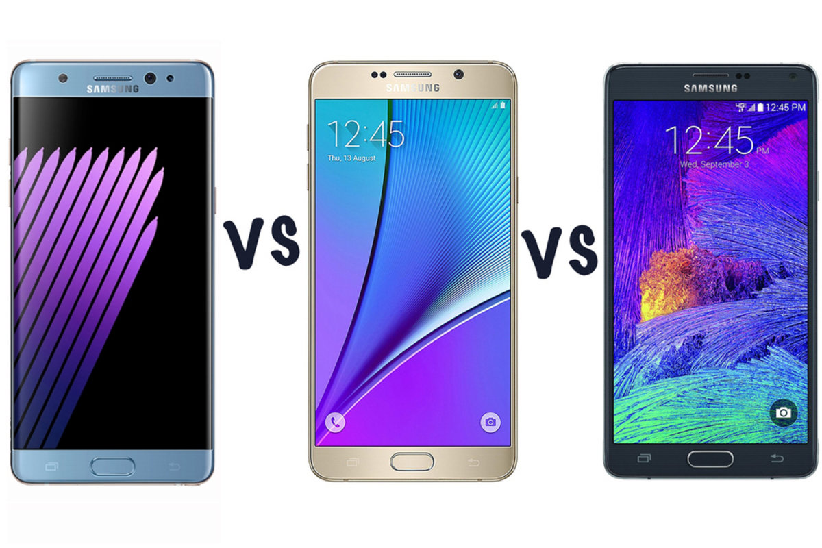 Samsung Galaxy Note 7 Vs 5 4 Whats The Difference New Xiaomi 3 64gb Pocket Lint