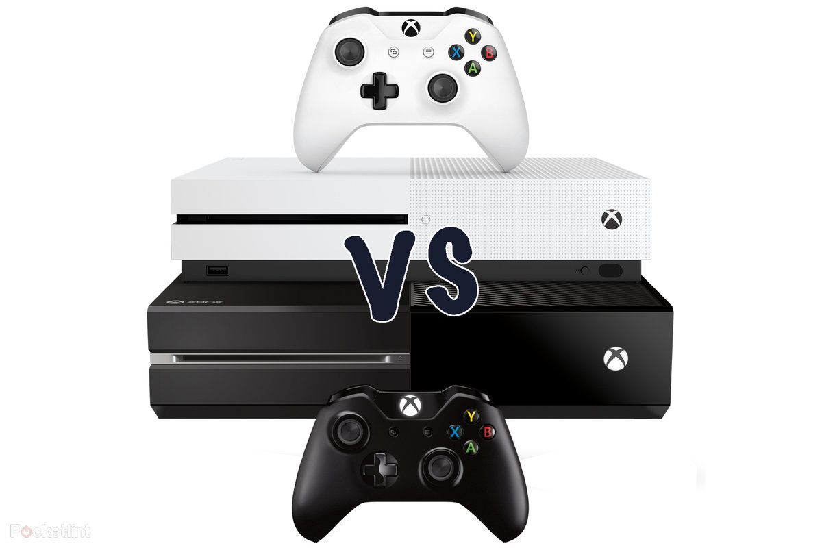 Xbox one s vs xbox one whats the difference pocket lint sciox Images