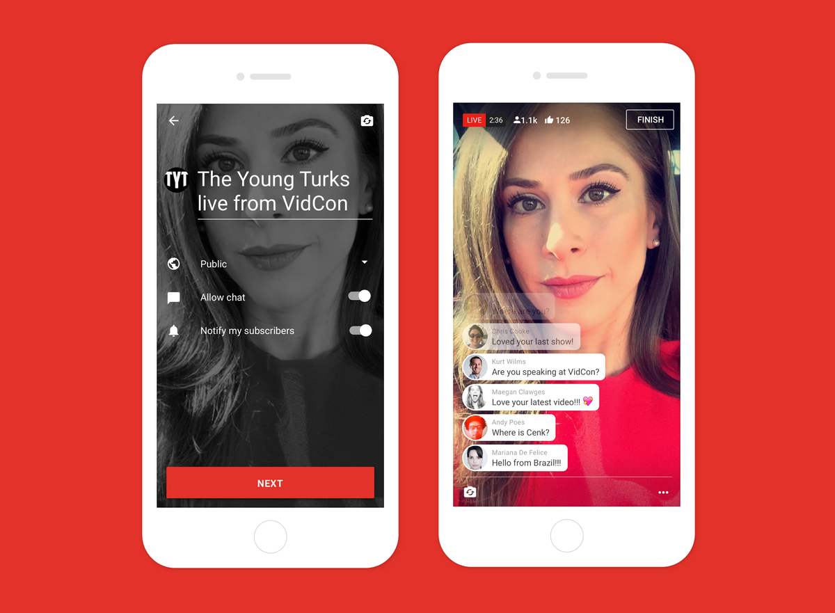 YouTube launches live mobile streaming: Here\'s how it works - Pocket ...