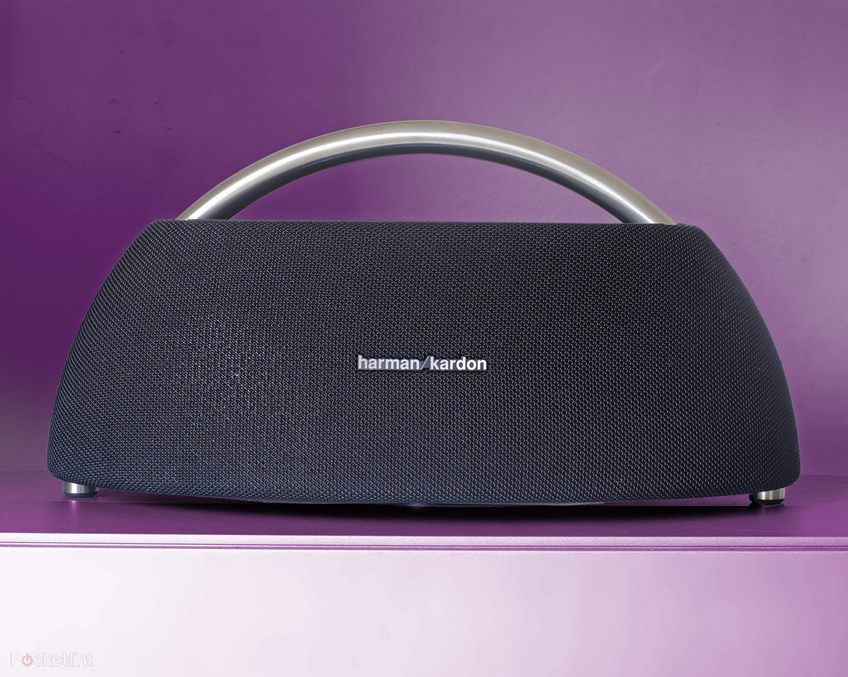 Harman Kardon Go Play Mini Speaker Black Review Post Retro Design Powerful Audio Pocket Lint