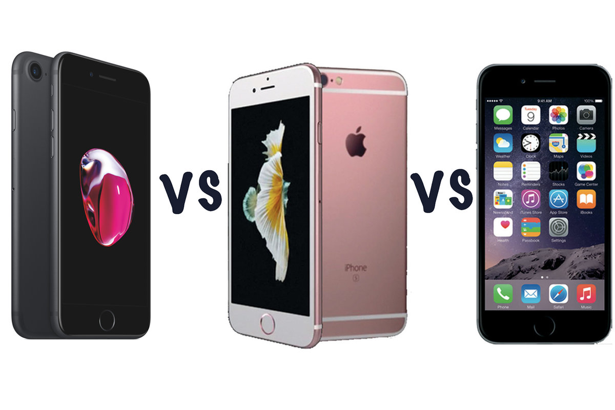 buy online 1c4f6 32786 Apple iPhone 7 vs iPhone 6S vs iPhone 6: What's the difference?