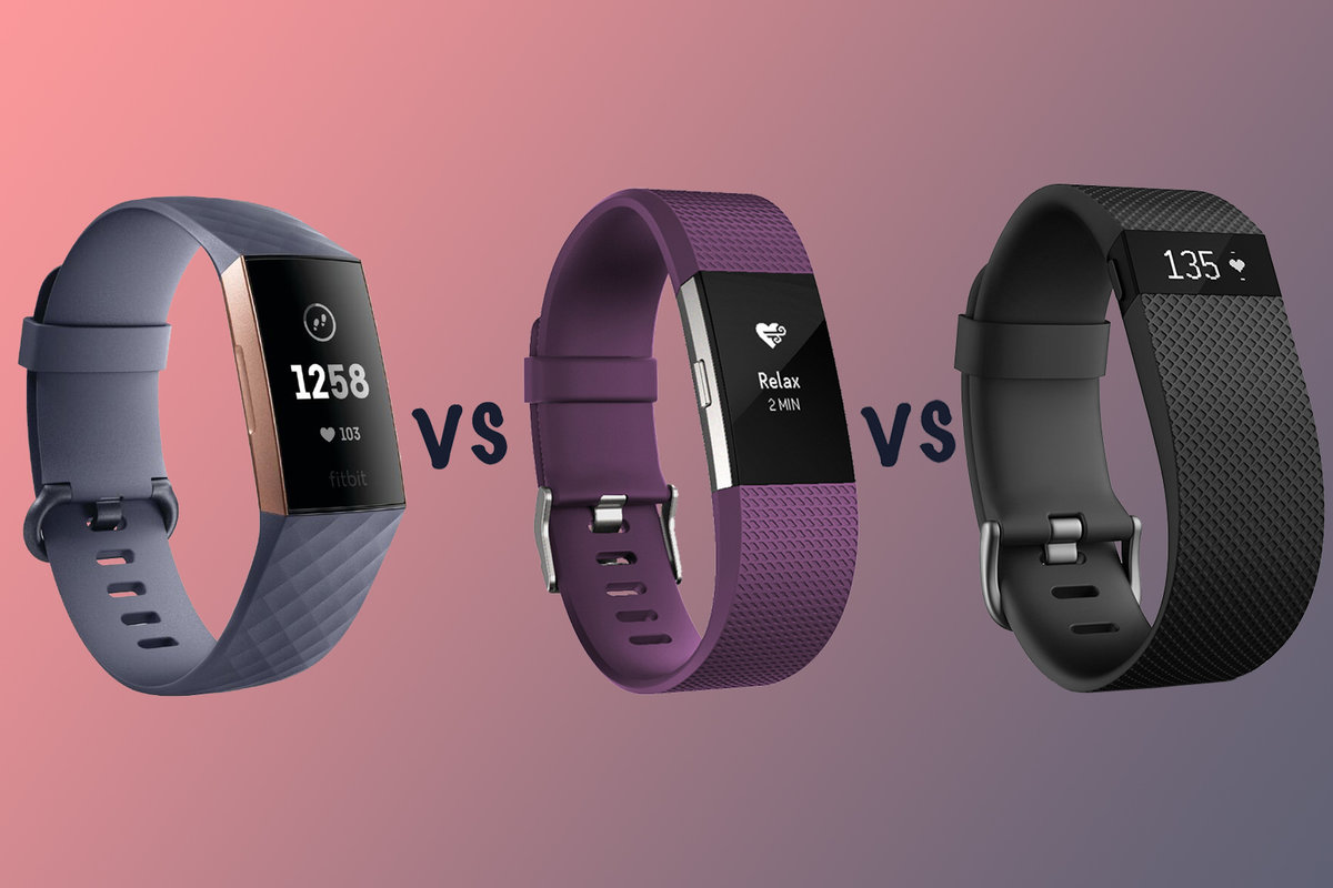Fitbit Charge 3 vs Charge 2 vs Charge HR: What's the difference