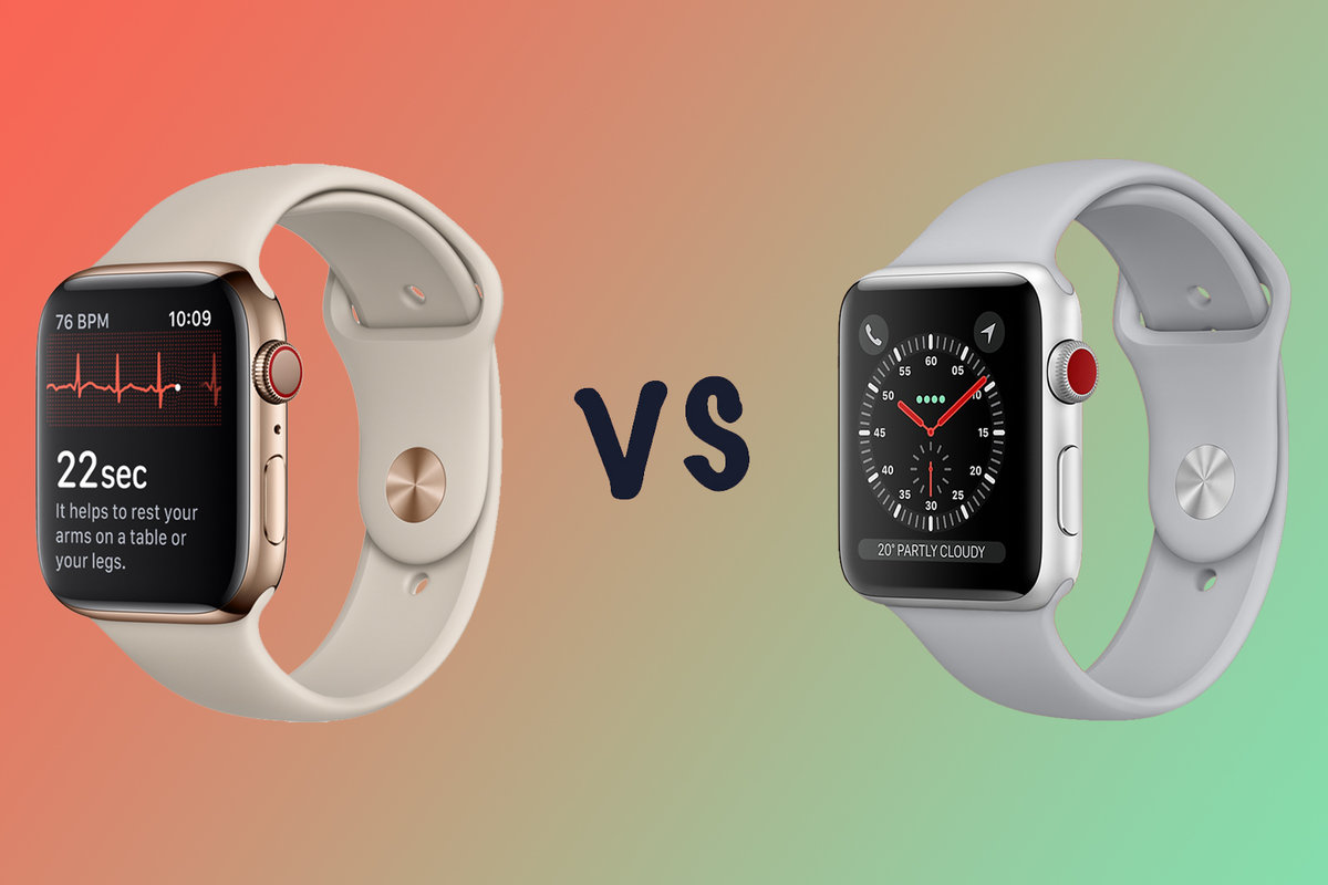 93a161445c1 Apple Watch Series 4 vs Series 3  What s the difference  - Pocket-lint