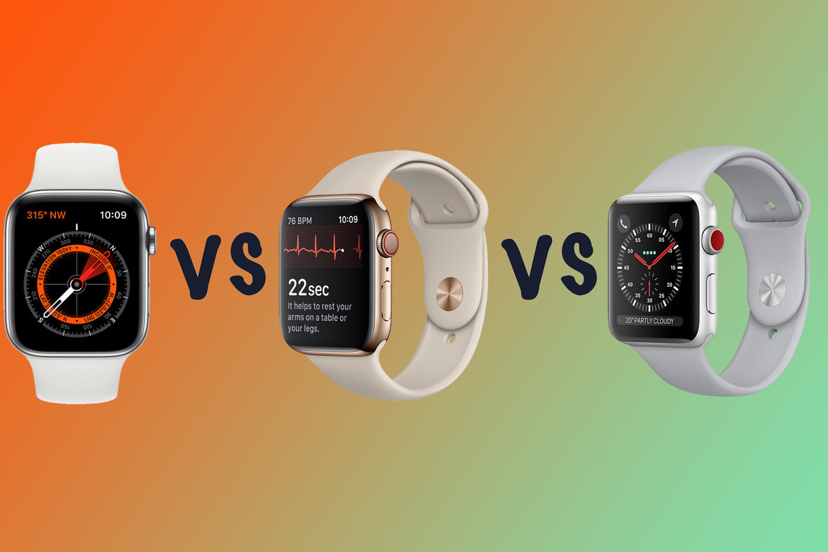 Montón de enfermo Merecer  Apple Watch Series 5 vs Series 3: What's the difference?