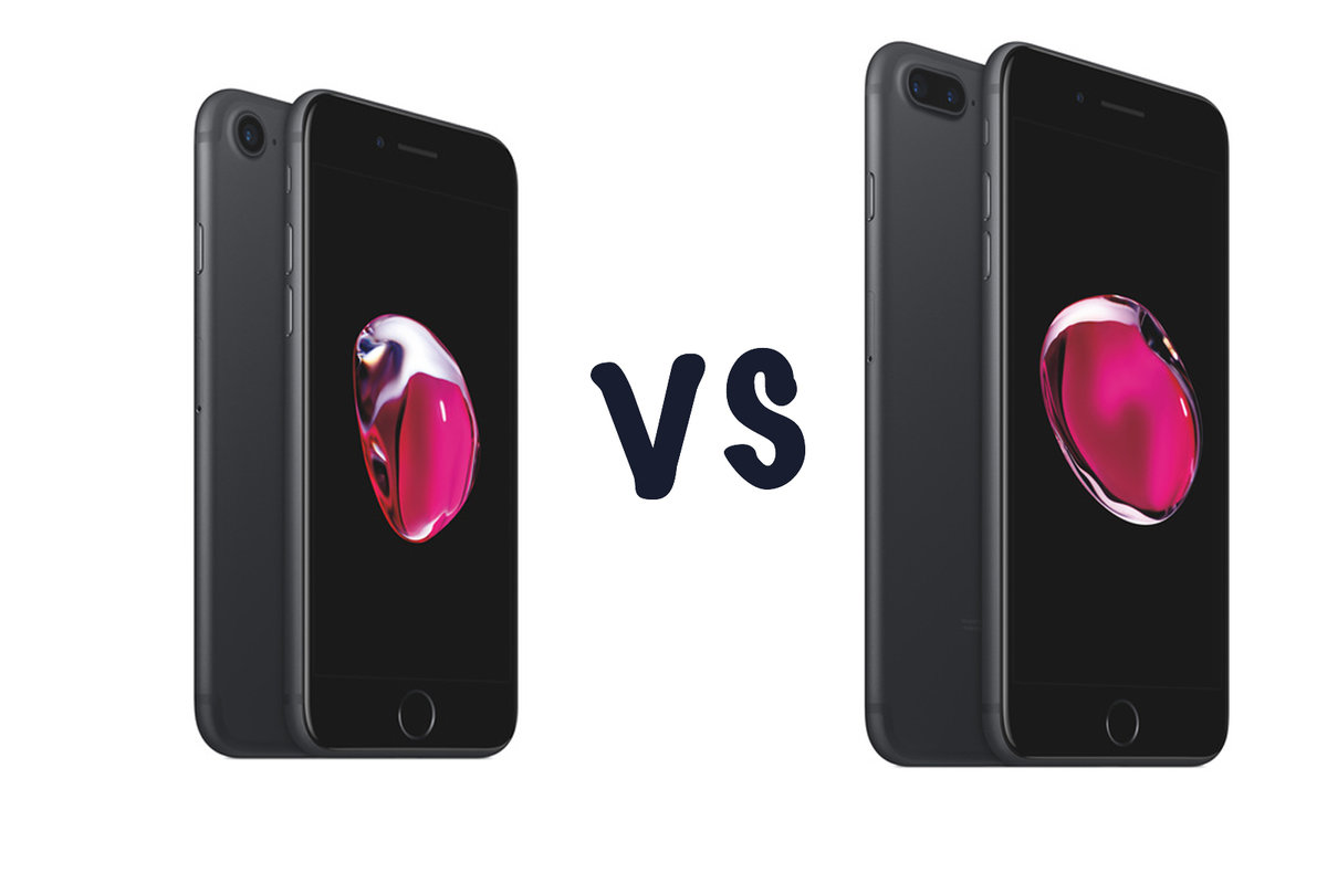 bcce331d214 Apple iPhone 7 vs iPhone 7 Plus: What's the difference? - Pocke