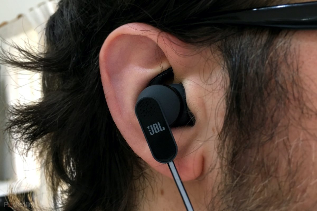 Image result for JBL Reflect Aware review: Lightning earphones for sporty iPhone 7 users