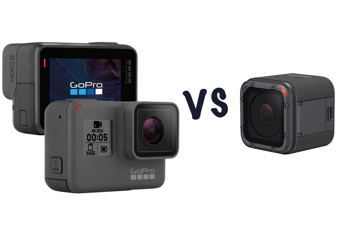 GoPro Hero5 Black vs Hero5 Session: What\'s the difference? - Pocket-lint