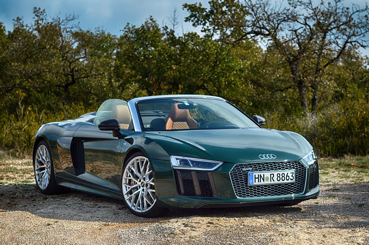 Audi R8 Spyder 2016 Review Tinnitus Tyre Marks And Turned Heads Guaranteed Pocket Lint