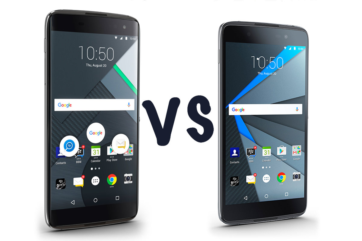 Blackberry Dtek60 Vs Dtek50