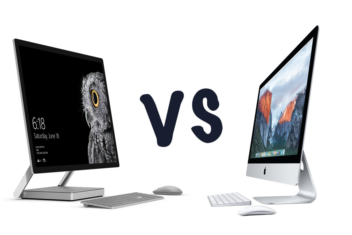 202ed5ab550 Microsoft Surface Studio vs Apple iMac: What's the difference?