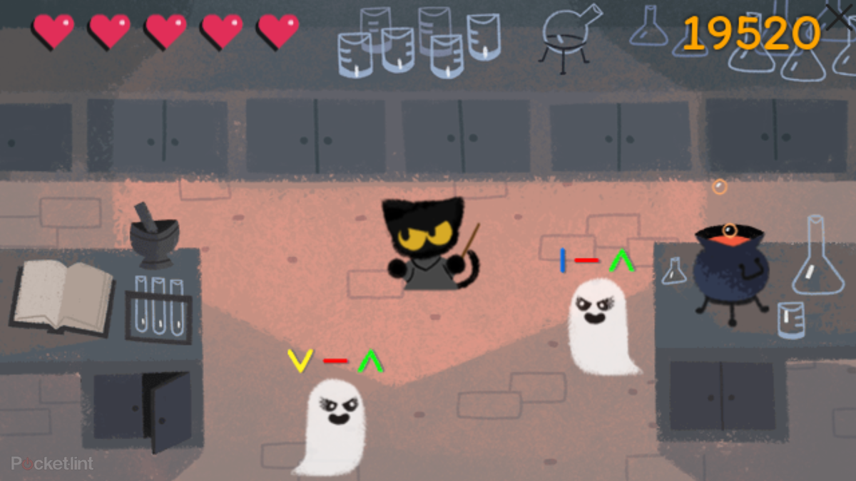 how to play the awesome halloween google doodle pocket lint