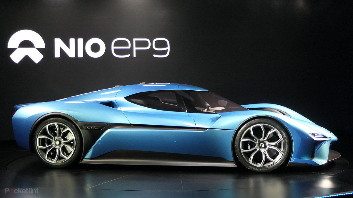 Nextev Nio Ep9 In Pictures The World S Fastest Electric Superc