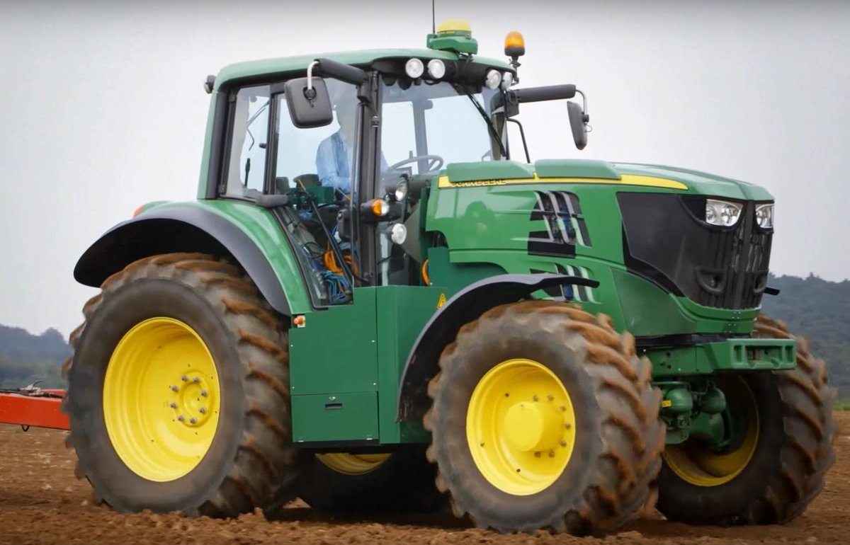 John Deere just made its first fully-electric tractor, see it here ...
