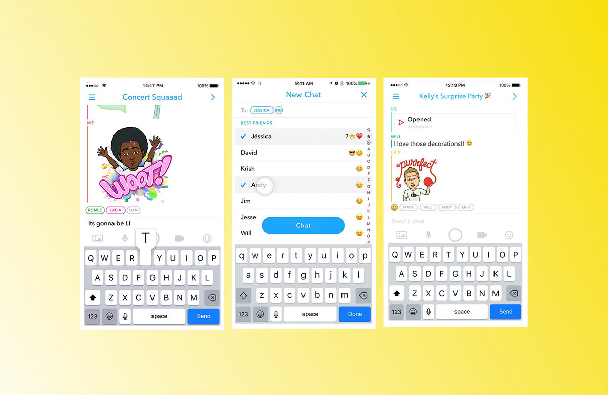 Snapchat Groups: Here's How To Use The New Group Chat Feature Pocketlint