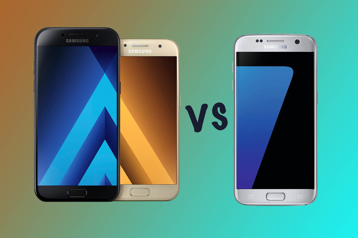 Samsung Galaxy A5 Vs A3 S7 Whats The Difference Pocket Lint A300 16 Gb