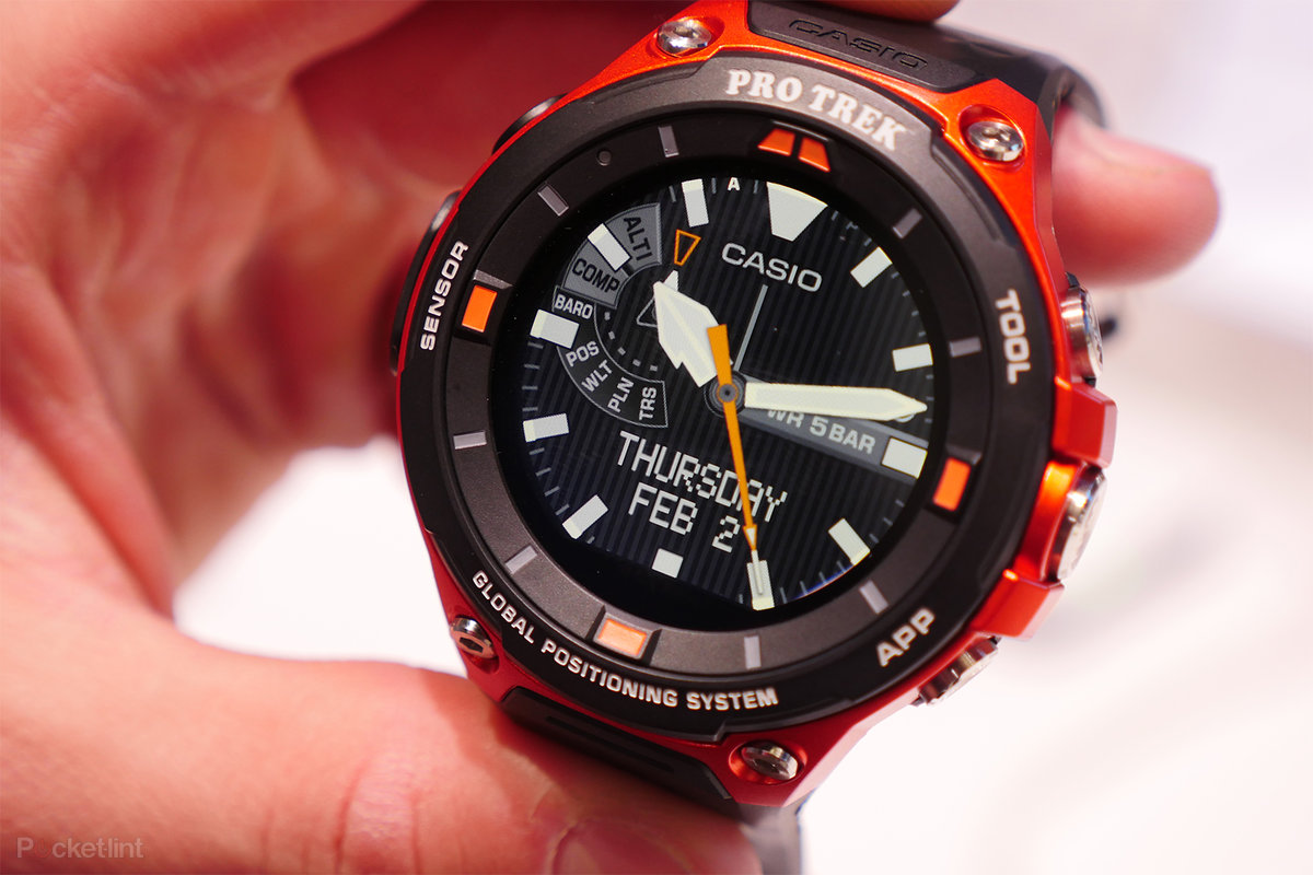 Casio WSD-F20 review  The best Android Wear sports watch for outdoor  activities - Pocket-lint fb84c9c814c