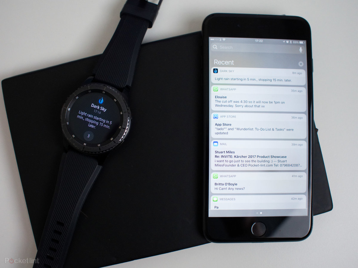 low priced 2dca8 6029c Samsung Gear S3 and Gear S2 now connect to iPhone, here's how i