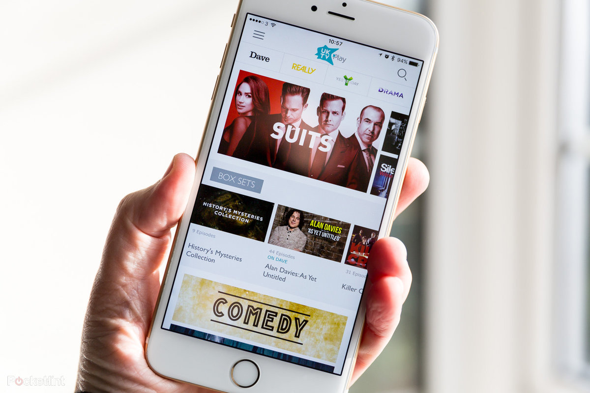 UKTV Play app for iOS and Android revamps, extends free box set