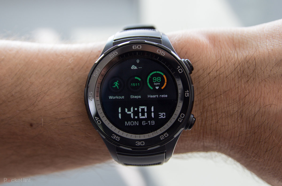 Huawei Watch 2 Sport Review New Tricks And 4gs A Hit Pocket Lint Smart Black Stainless Steel