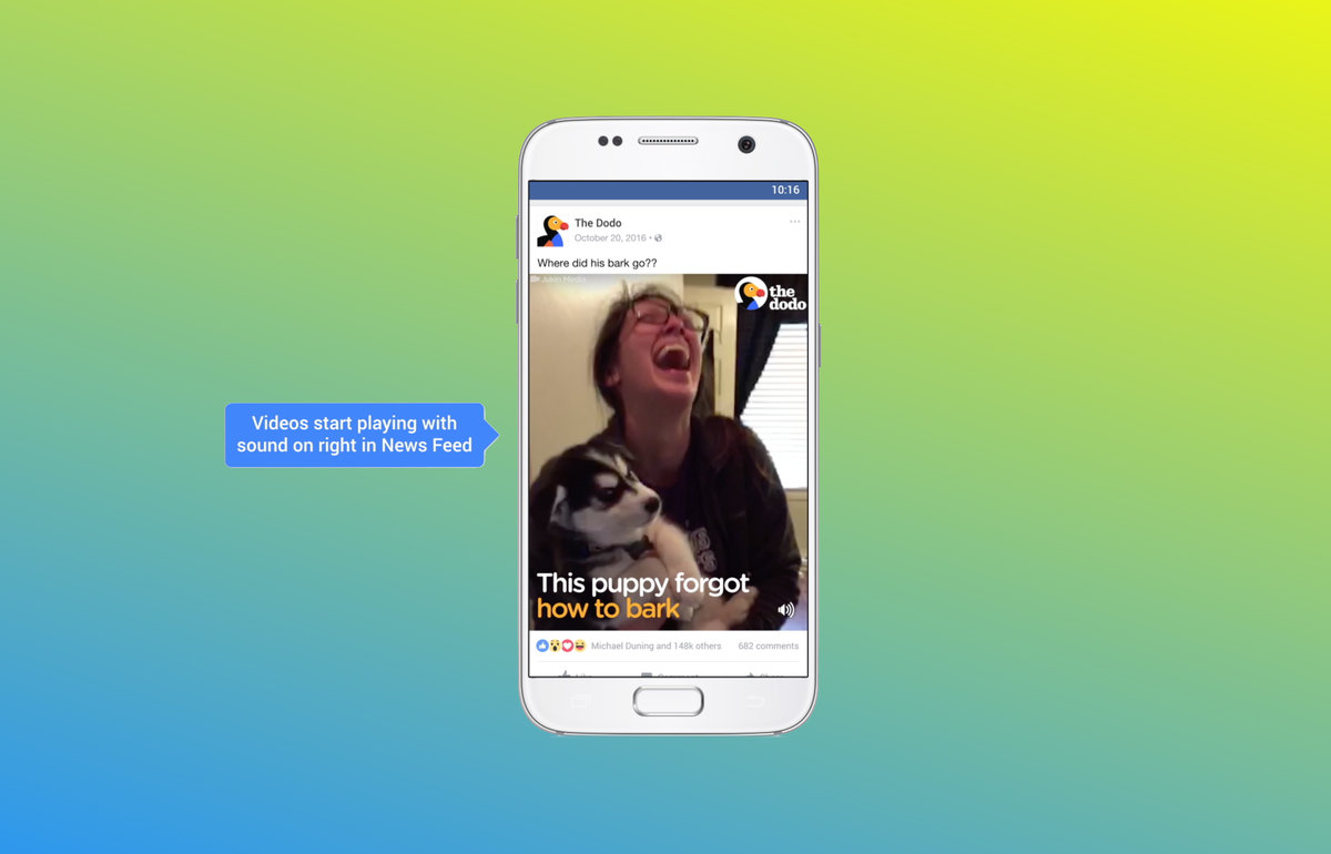 Image result for auto play facebook videos