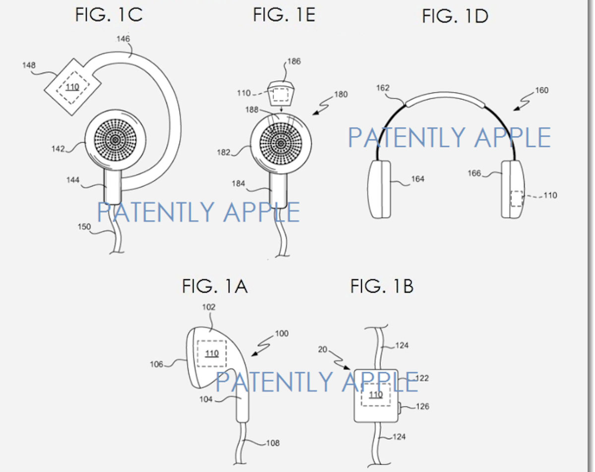 Apple files patents for 'earbuds with biometric sensing', health tracking  capabilities on the horizon - Pocket-lint