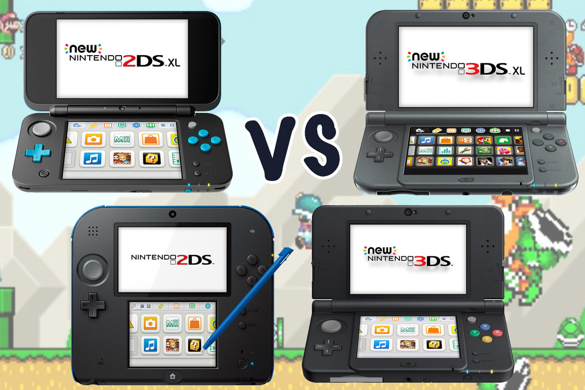 Nintendo Ds Xl Vs Ds Vs Ds Vs Ds Xl Whats The Difference Pocket Lint