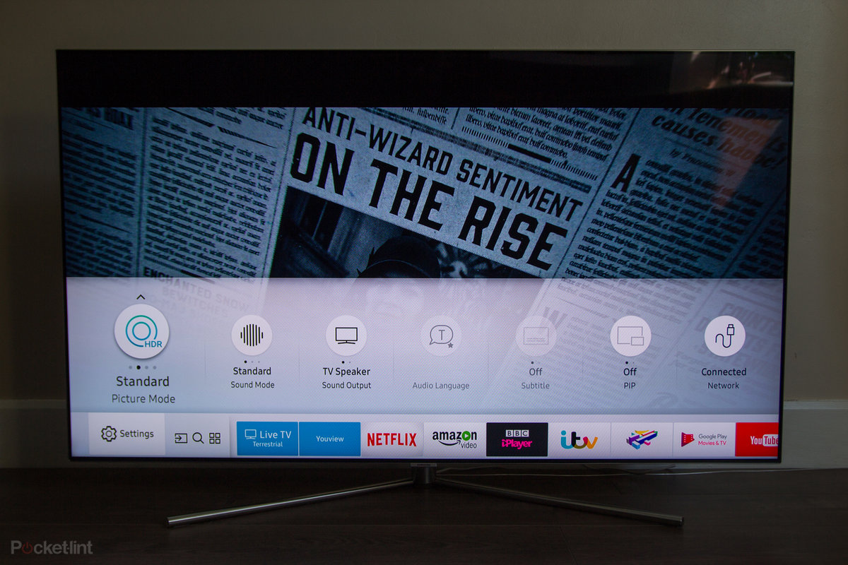Samsung QLED Q7F 4K TV review: QLED gets off to a flying start