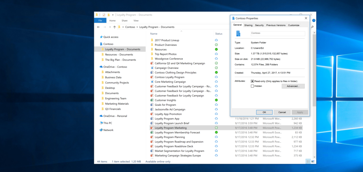 OneDrive Files On-Demand will finally only download your files