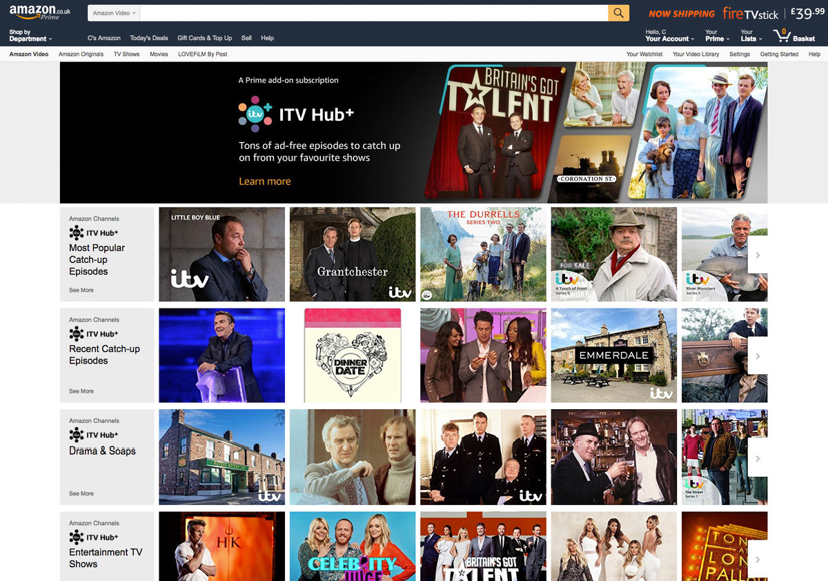 Amazon Channels comes to UK: What is it and what channels does