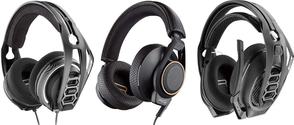 Plantronics Trio Of Rig Headsets Deliver Dolby Atmos On Xbox O