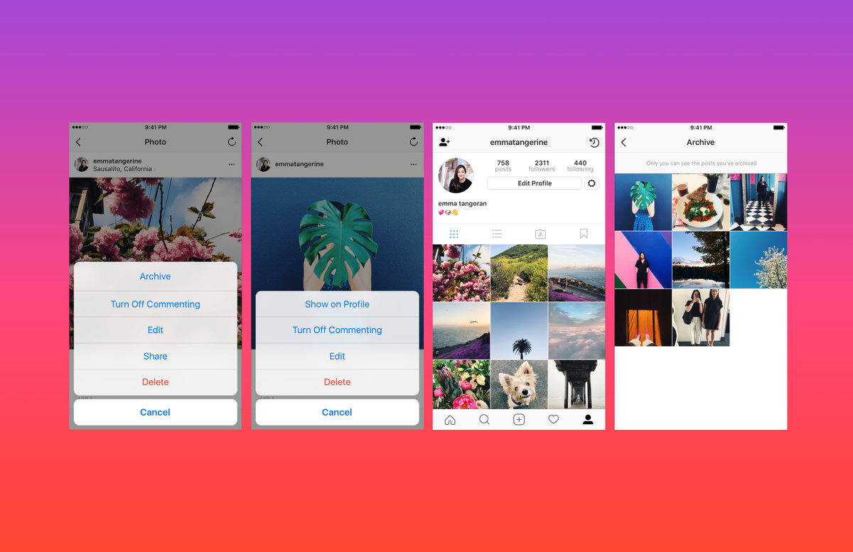 Instagram Adds Archiving: How To Hide Your Old, Heavily Filtered Photos   Pocketlint