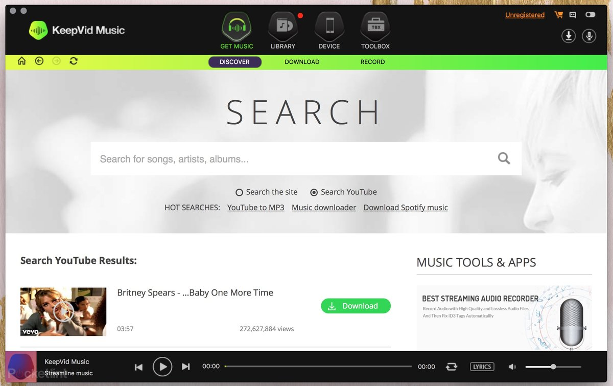 KeepVid Music: Download any song or video from the web to your