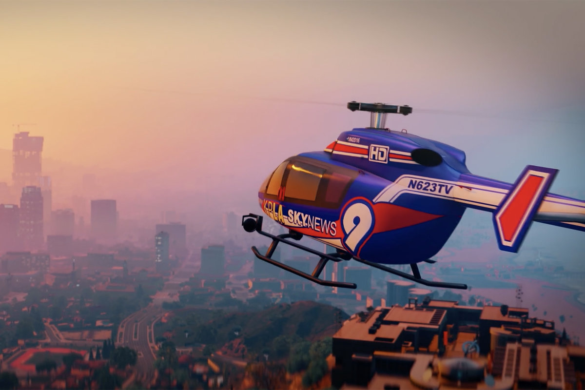 Stunning short film made entirely in GTA 5, you won't believe y