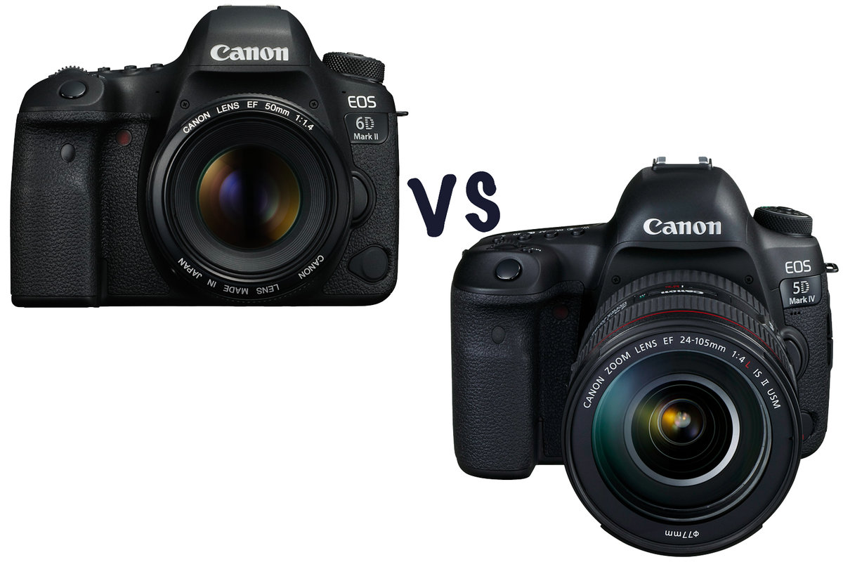Canon Eos 6d Mark Ii Vs 5d Iv Whats The Difference And Which Body Only Camera Dslr 4 Should I Buy Pocket Lint
