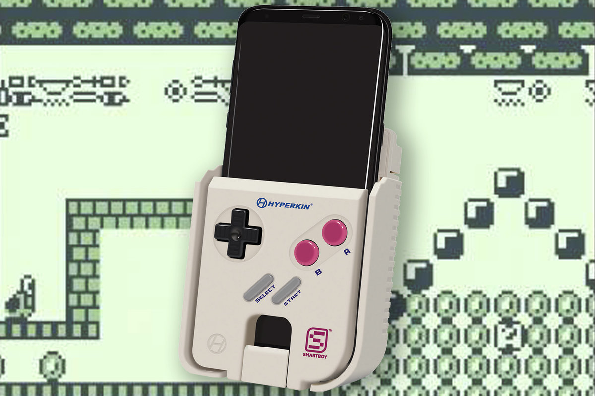Turn Your Android Phone Into A Game Boy For Smart Boy Now - Hyperkin smartphone gameboy