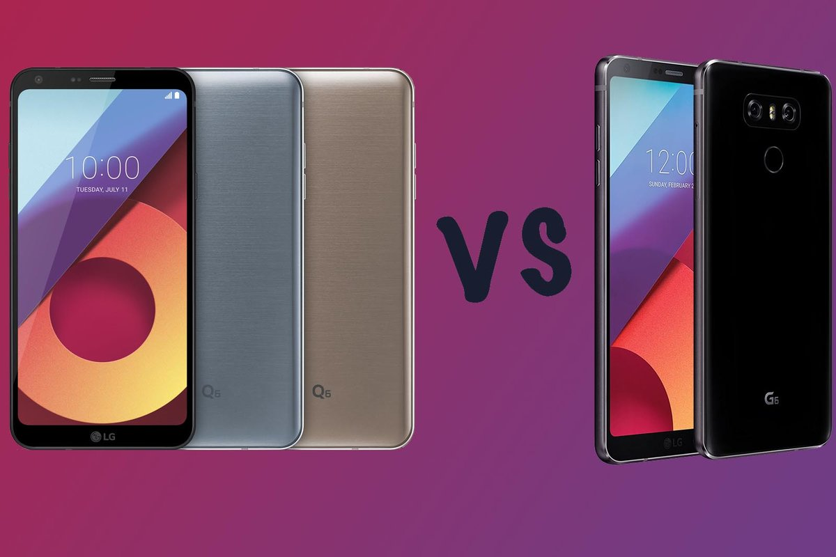 LG Q6 vs LG G6: What's the difference?