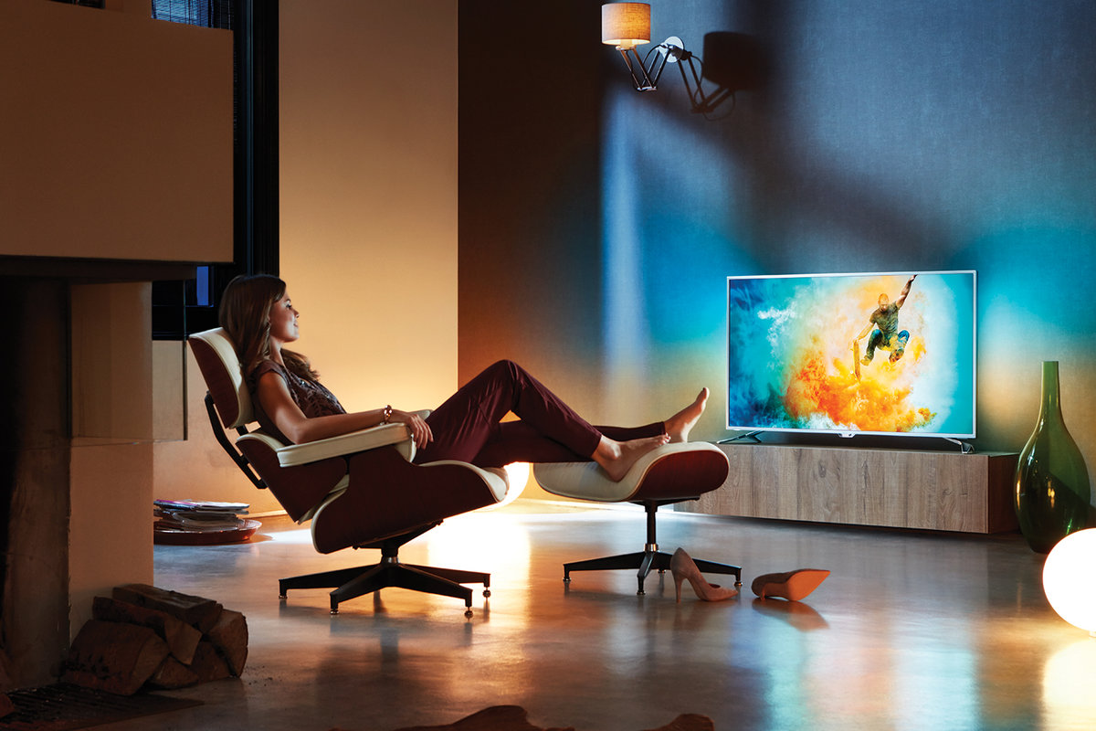 Where to position your TV for the best Ambilight experience - P