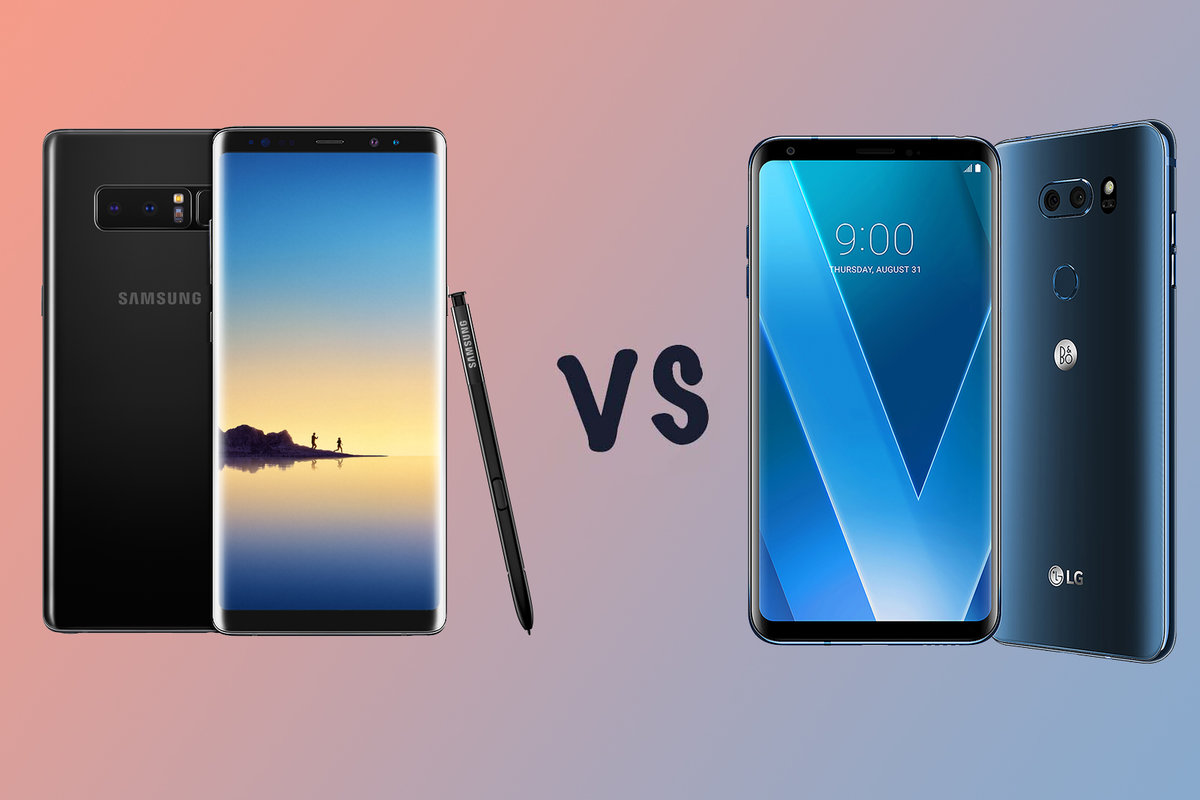 Samsung Galaxy Note 8 vs LG V30: What's the difference? - Pocke