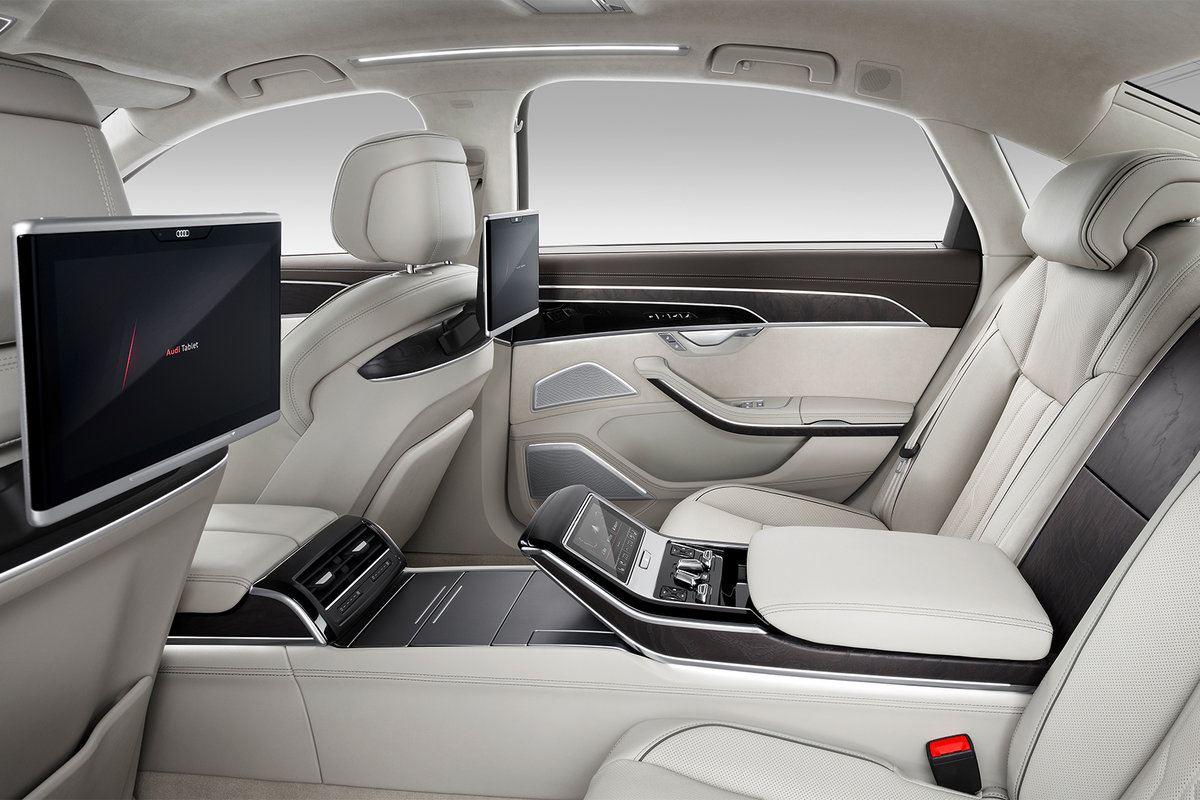 Audi audi a8 : Audi A8 can be specced with a 23 speaker Bang & Olufsen 3D sound ...