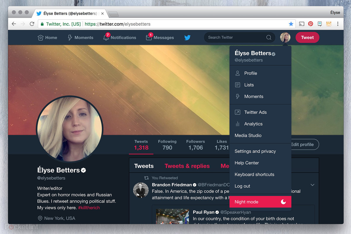 How to turn on Twitter Night mode on desktop, iOS, and Android