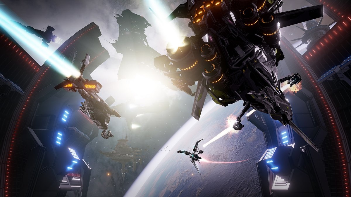 EVE Valkyrie review: Virtual reality space battle fun without t