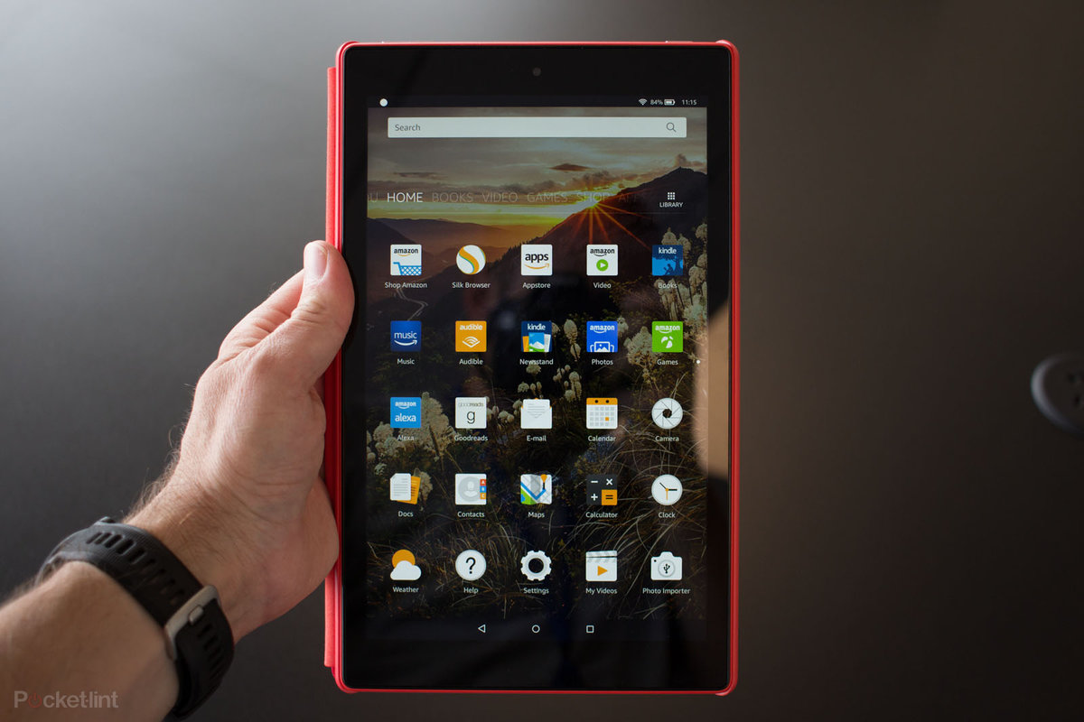 Amazon Fire HD 10 Tablet with Alexa Hands-Free (2017)