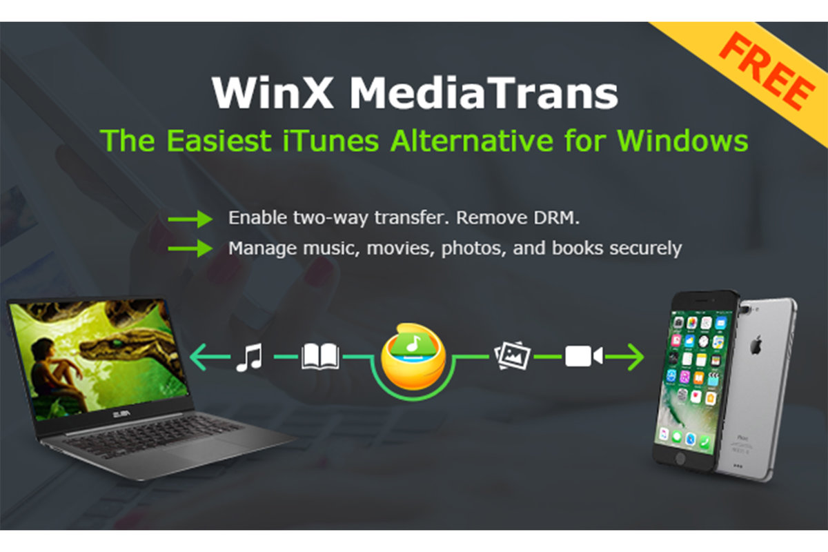 How to manage your iPhone in Windows with WinX MediaTrans (no i